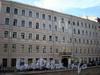 Наб. канала Грибоедова, д. 37. Бывший доходный дом. Фасад здания. Фото август 2009 г.