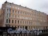 Наб. канала Грибоедова, д. 49. Бывший доходный дом. Общий вид здания. Фото апрель 2009 г.