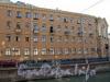 Наб. канала Грибоедова, д. 57 / Гражданская ул., д. 2-4.жилой дом работников Метростроя. Фасад по набережной. Фото июль 2009 г.