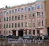 Наб. канала Грибоедова, д. 59. Бывший доходный дом. Фасад здания. Фото июль 2009 г.