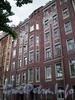 Наб. канала Грибоедова, д. 146. Бывший доходный дом. Фрагмент фасада. Фото август 2009 г.