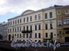 Наб. реки Мойки, д. 16. Особнякжадимировских (Н. Е. Демидовой). Фасад здания. Фото май 2009 г.