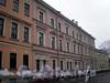Наб. реки Мойки, д. 104. (правая часть). Бывший доходный дом. Фасад здания. Фото март 2009 г.