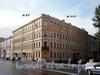 Наб. канала Грибоедова, д. 27 / пр. Римского-Корсакова, д. 27. Бывший доходный дом. Общий вид здания. Фото август 2009 г.