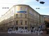 Наб. канала Грибоедова, д. 55 / пер. Гривцова, д. 14-16. Здание Государственного заемного банка. Общий вид здания. Фото август 2009 г.