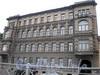 Синопская наб., д. 72. Бывший доходный дом. Фасад здания. Фото сентябрь 2008 г.