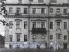 Наб. Лейтенанта Шмидта, д. 33 / 16-я линия В.О., д. 1.  Дом Э. Паннаша. Фасад здания по набережной. Фото 1968 г. (из книги «Историческая застройка Санкт-Петербурга»)