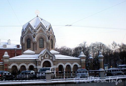 Наб. канала Грибоедова, д. 2. Часовня Спаса-на-Крови. Фото декабрь 2009 г.