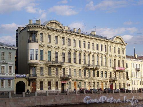 Наб. реки Фонтанки, д. 24. Фасад здания. Фото май 2009 г.