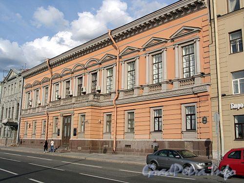 Английская наб., д. 16. Фасад здания. Фото июнь 2010 г.