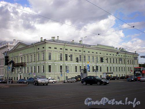 Дворцовая наб., д. 4. Общий вид. Фото май 2009 г.
