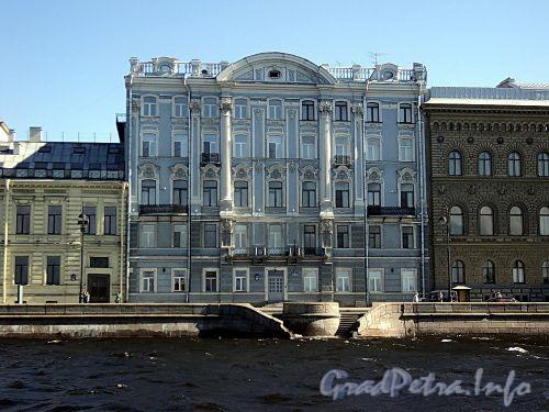 Дворцовая наб., д. 24. Фасад здания. Фото июнь 2010 г.