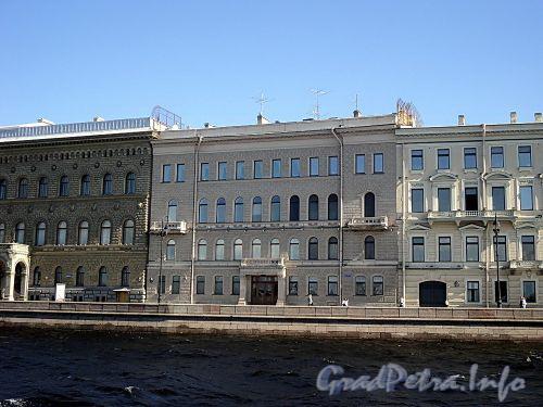 Дворцовая наб., д. 28. Фасад здания. Фото июнь 2010 г.
