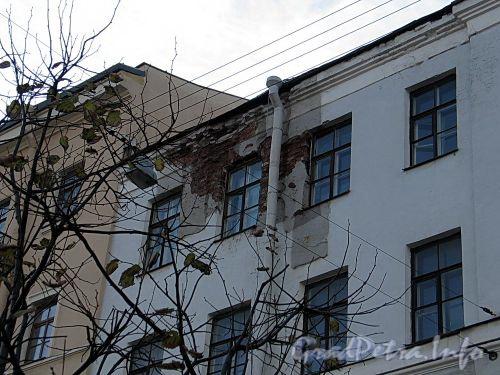 Наб. реки Фонтанки, д. 23. Фрагмент фасада. Фото октябрь 2010 г.