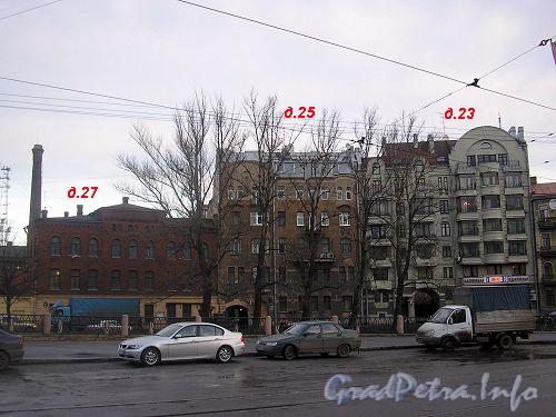 Дома 23-27, лит. Б по наб. р. Карповки. Фото 2006 г.