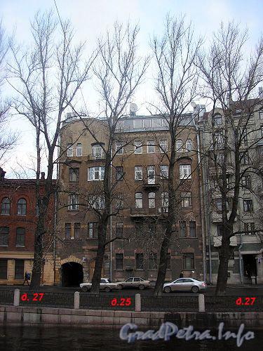 Наб. реки Карповки, д. 25. Общий вид здания. Фото 2006 г.
