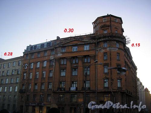 Дома 28-30 по наб. р. Карповки. Фото 2006 г.
