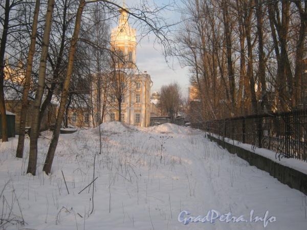 Наб. реки Монастырки, дом 1, лит. О. Церковь дневнехранилища. Фото февраль 2012 г.