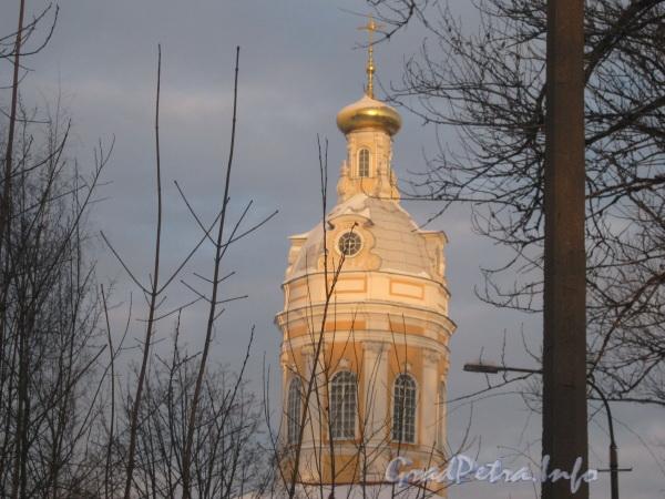 Наб. реки Монастырки, дом 1, лит. О. Древнехранилище (Западная башня). Фото февраль 2012 г.