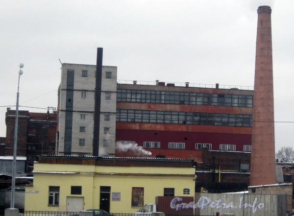 Наб. Обводного канала, дом 229. Общий вид с противоположной стороны наб. Обводного канала. Фото февраль 2012 г.