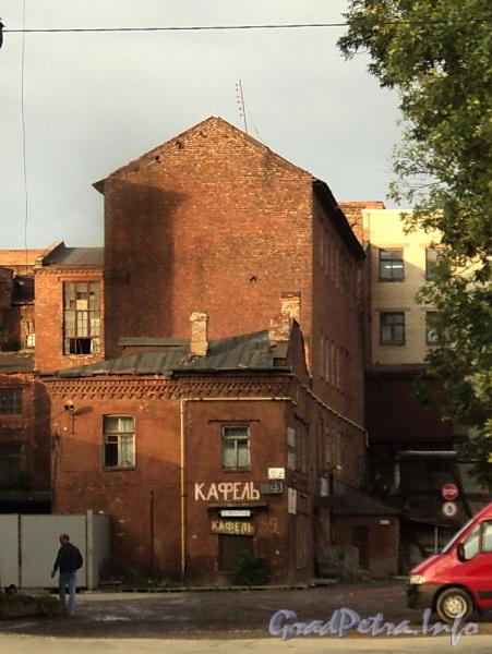 Выборгская наб., д. 59, корп. 3. Вид с Выборгской набережной. Фото сентябрь 2011 г.