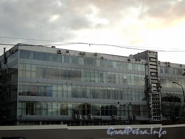 Выборгская наб., д. 61. Корпус по Выборгской набережной. Вид со двора. Фото сентябрь 2011 г.