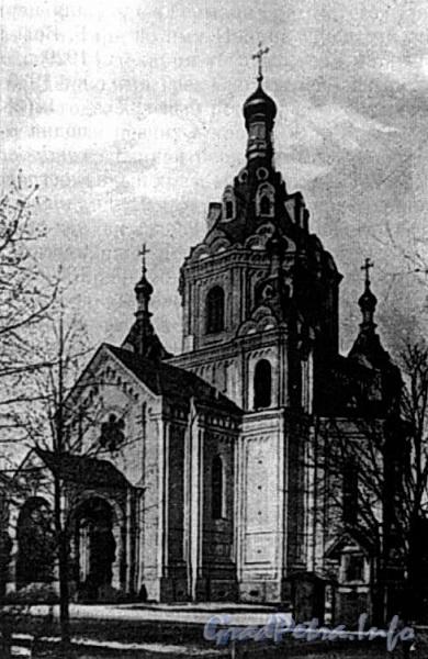 Церковь во имя Святого Николая Чудотворца (Чернореченская). Фото с сайта al-spbphoto.narod.ru