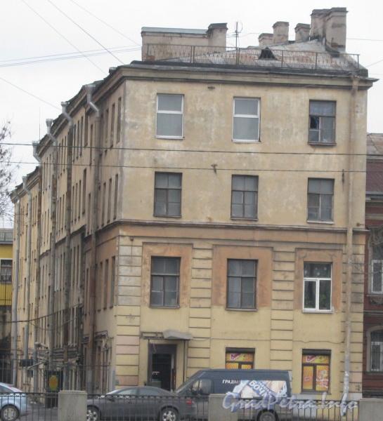 Наб. Обводного канала, дом 157-159, лит. Г. Общий вид с чётной стороны наб. Обводного канала. Фото март 2012 г.