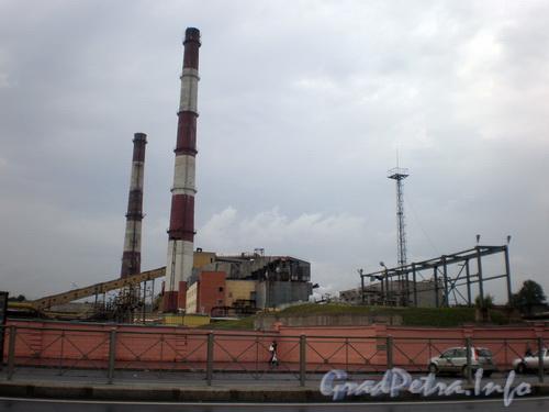 Синопская наб., д. 38, завод ЛИВИЗ. Фото август 2008 г.