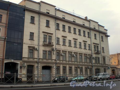 Синопская наб., д. 56-58, общий вид здания. Фото август 2008 г.