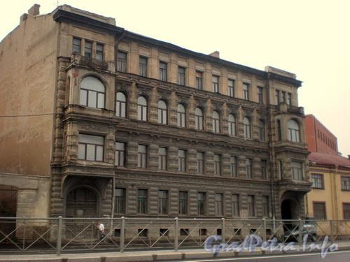 Синопская наб., д. 72, общий вид здания. Фото август 2008 г.