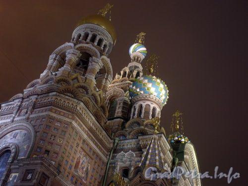 Ночное оформление храма Спас-на-Крови