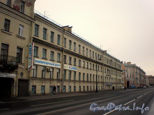 Набережная Адмирала Макарова, д. 20. Фасад здания. Фото октябрь 2008 г.