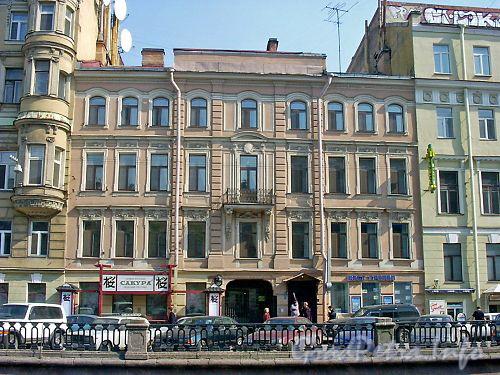 наб. канала Грибоедова, дом. 12. Общий вид здания.