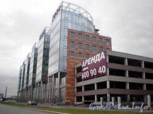 Аптекарская набережная, д. 20. Бизнес-центр «Авеню». Фото октябрь 2008 г.