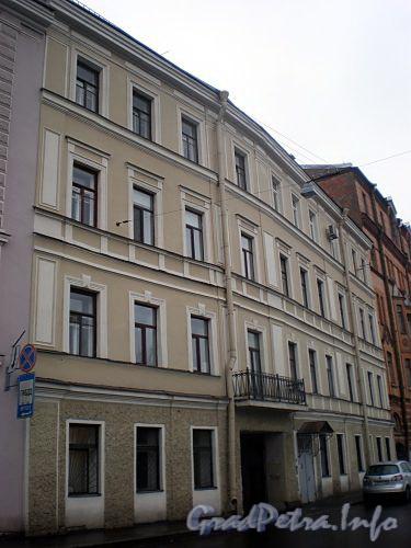 Наб. реки Мойки, д. 110. (Правый корпус). Бывший доходный дом. Фасад здания. Фото март 2009 г.