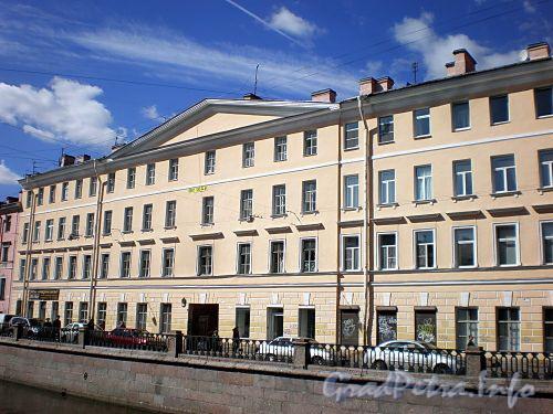 Наб. канала Грибоедова, д. 41. Фасад здания. Фото август 2009 г.