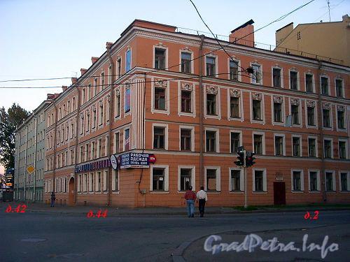 Обводного канала наб., д. 42 ⇒ Фрунзенский р-н Санкт-Петербурга