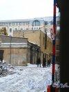 Наб. Лейтенанта Шмидта, дом 21 / Иностранный пер., дом 4. Вид со стороны набережной Лейтенанта Шмидта. Фото 31 января 2013 года.