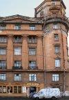 реки Карповки наб., д. 30. Доходный дом К. Г. Чубакова. Фрагмент фасада. Фото март 2012 г.