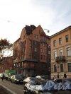 Наб. реки Фонтанки, д. 159/Климов пер. д. 9. Общий вид здания. Апрель 2012 г.