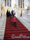 Дворцовая наб., д. 38. Зимний дворец. Парадная (Иорданская) лестница. Фото июнь 2012 г.