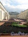 Дворцовая наб., д. 36. Малый Эрмитаж. Висячий сад. Фото апрель 2012 г