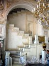 Дворцовая наб., д. 36. Малый Эрмитаж. Павильонный зал. Фрагмент интерьера. Фото июнь 2009 г.