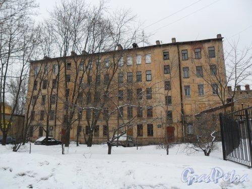 Набережная Бумажного канала, дом 16. Фото февраль 2013 г.