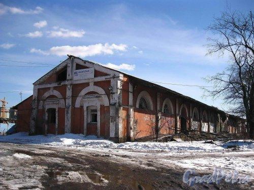 Набережная Обводного канала, дом 118, корпус 4, литера Г6 (адрес по РГИС). Пакгауз №2. Общий вид