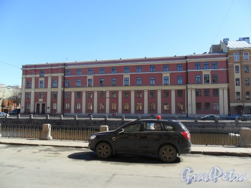 Набережная канала Грибоедова, дом 176. Фото 21 апреля 2013 г.