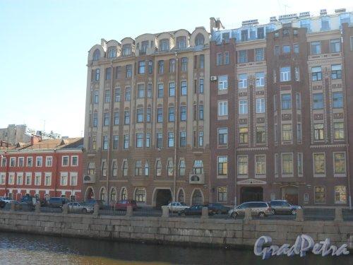 Набережная канала Грибоедова, дом 144. Фото 21 апреля 2013 г.
