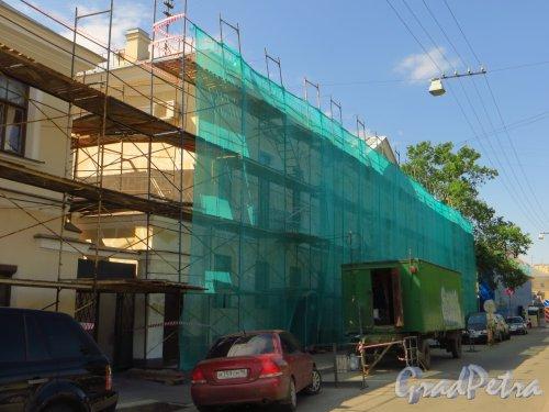 Наб. Крюкова канала, дом 23. Ремонт фасада здания. Фото 28 мая 2013 г.