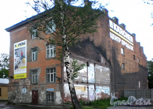 Свердловская наб., д. 40, корп. 2, лит. К. Общий вид здания со стороны набережной. Фото июнь 2009 г.
